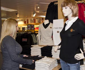 A variety of business casual apparel is now available to Aztecs.
