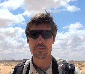 Video image of James Foley reporting in Libya provided by GlobalPost.