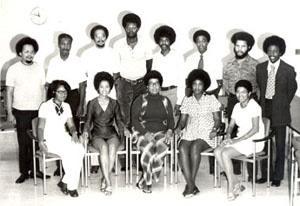 Founding faculty members in Afro-American Studies