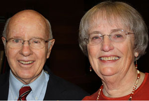 Charles and Robin Luby hope the gift will make a lasting impact on students.