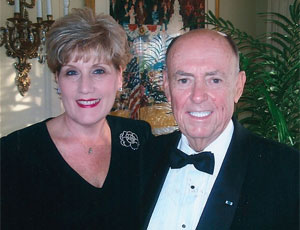 Art Barron, a U.S. Navy veteran and SDSU alumnus ('60, '98), and his wife Joan were among the first to give to the center when it was established in 2008.