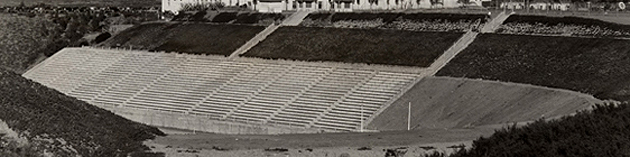 Aztec Bowl after its completion in 1936