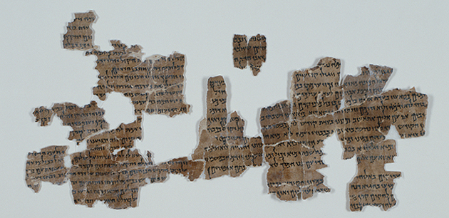 Fragments of the Dead Sea Scrolls