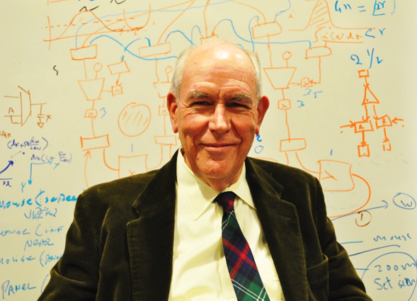 Dr. Ivan Sutherland's work laid the foundation for the graphical user interface in devices such as smartphones and computer workstations.