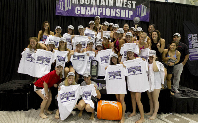 Swimmers And Divers Win Conference Championship