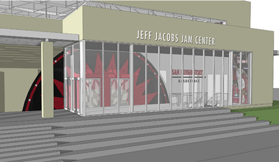 Jacobs JAM Center rendering
