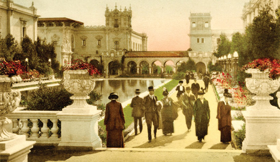 Balboa Park in a photo from 1915