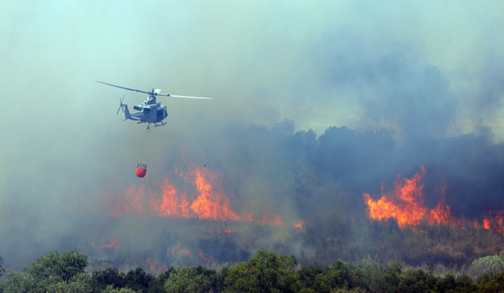 An SDSU partnership is working to develop software to better predict wildfire behavior.