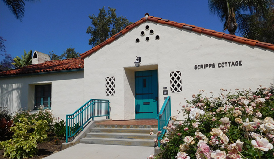 Scripps Cottage has served as a conference venue, a meeting place for student organizations and a center for international students.