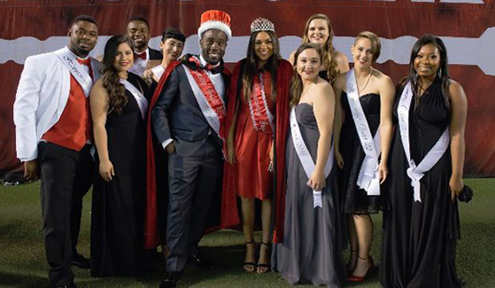 Apply to be part of this year's Homecoming Royal Court.