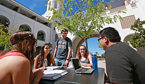 Since 2011, SDSU has climbed 37 spots on U.S. News & World Report's annual ranking of America's Best Colleges. (Photo: Sandy Huffaker Jr.)