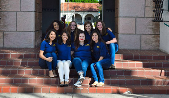 The Women's Transportation Seminar SDSU chapter is the first student chapter in California. (Credit: Women's Transportation Seminar)