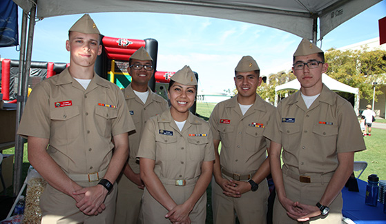 SDSU currently serves more than 3,200 military-affiliated students, including veterans, active duty and reservists, and military dependents.