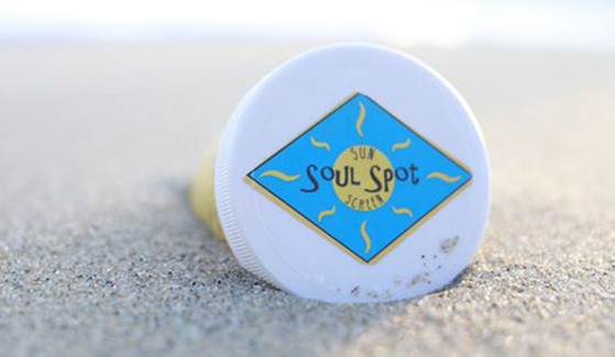 SDSU student Naseem Kasraee launched Soul Spot Suncreen into an LCC in May 2016. (Credit: Soul Spot Sunscreen)