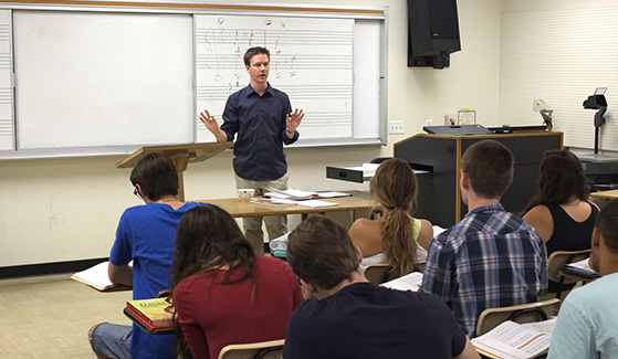 SDSU is the only university in the country that offers a bachelor's degree in music entrepreneurship.