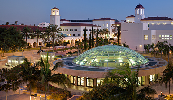 Current application levels combined with higher graduation and continuation rates have led to SDSU's ascent in national rankings. (Photo: Jim Brady)