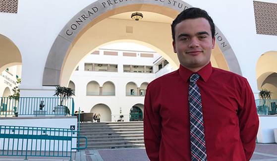 Jamie Steckbeck is an accounting major at SDSU hoping to become a CPA at a Big Four accounting firm.