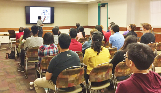 The SDSU Biomedical Engineering Society meets other Friday from 12-1 p.m. in the Mechanical Engineering Conference Room. (Credit: SDSU BMES)