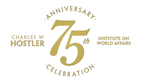 This month, SDSU will recognize the 75th anniversary of the Charles W. Hostler Institute on World Affairs.