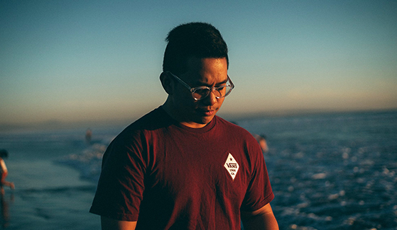 Paulo Diwa said changing his major to television, film and new media was the most life-changing experience while at SDSU. (Photo: Jenna Castillo)