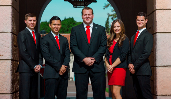 SDSU Associated Students executives from 2014-15 academic year. (Credit: SDSU A.S.)