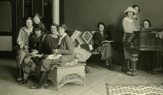 The SDSU Women's Association was created in 1927 as the Faculty Dames club. (Credit: SDSU Digital Collections)