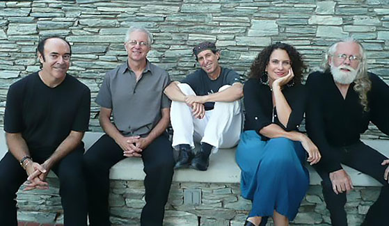 Yale Strom and members of his band, Hot Pstromi (pictured), will be joined in concert by Israeli jazz guitarist and oudist Amos Hoffman and pianist and composer Noam Lemish.