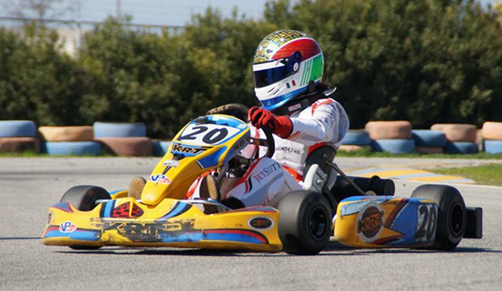 Isabella Busalacchi began her career racing in the San Diego Karting Association at El Cajon Speedway at the age of five. (Credit: Isabella Busalacchi)