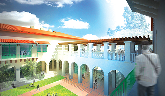 Rendering of SDSU's Engineering and Interdisciplinary Sciences Complex, scheduled to open in January 2018.