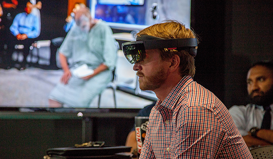 SDSU's Instructional Technology Services hosted the Virtual Immersive Teaching and Learning Mixed Reality Showcase on campus.