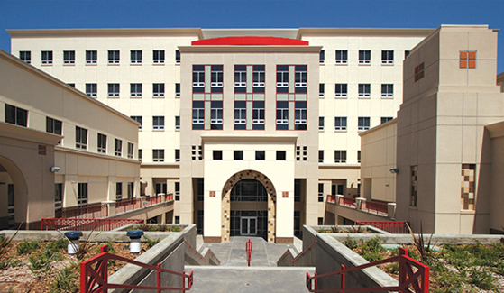 SDSU's Arts and Letters Building