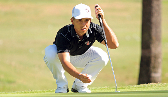 Xander Schauffele (Credit: SDSU Athletics)