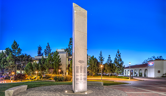 War Memorial on Aztec Green (Photo: Jim Brady)