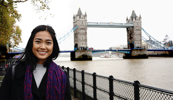 Erin de Leon in London