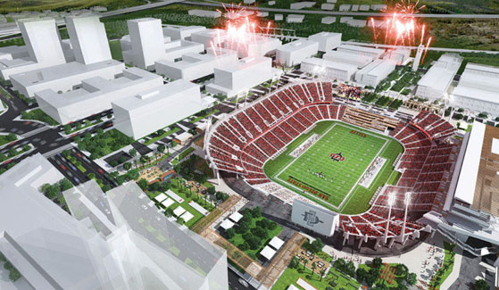 SDSU has revealed its stadium details for the Mission Valley location.