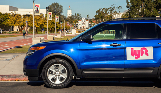 SDSU has 12 designated rideshare pick-up and drop-off locations on campus.