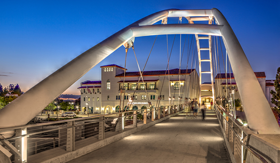 SDSU's Pedestrian Bridge (Photo: Jim Brady)