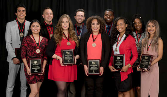 2017 Quest for the Best Winners (Credit: SDSU Student Life and Leadership)