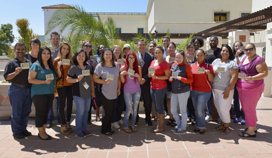 Participants of SDSU's Military Ally program