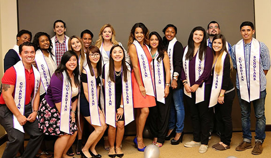 Graduates of SDSU's Guardian Scholars program