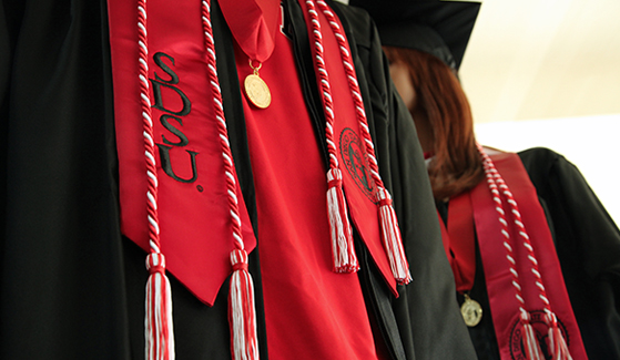 An estimated 10,600 degree candidates will graduate at the university's commencement festivities this week.