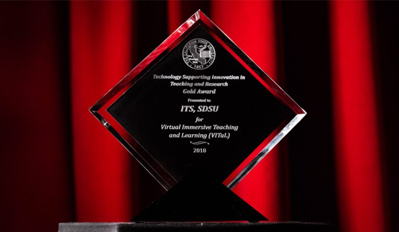 "Cal State Tech Conference ""Technology Supporting Innovation in Teaching and Research"" Gold Award"