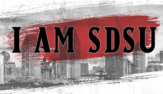 Show your Aztec pride by sharing stories and photos using #IAMSDSU through the rest of the year.