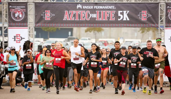 Kaiser Permanente Aztec for Life 5K