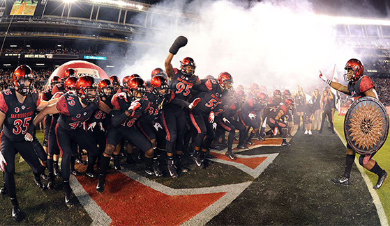 San Diego State Aztecs head to Texas to take on the Ohio University Bobcats in the Frisco Bowl.