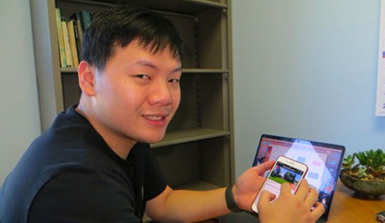 "Jun Jiang shares his ""The Sauce for Abroad/Easy-A"" app."