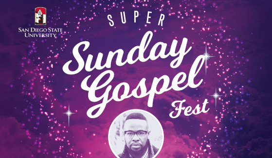 National recording artist DeWayne Woods will perform at SDSU's first Super Sunder Gospel Fest.