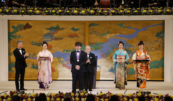 Deisseroth, 47, is the youngest award recipient in the Kyoto Prize's 34-year history.