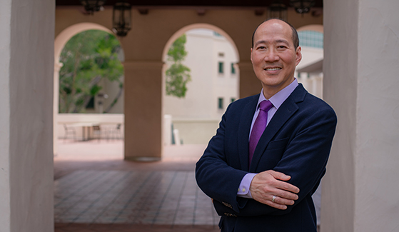 SDSU College of Education Dean Y. Barry Chung