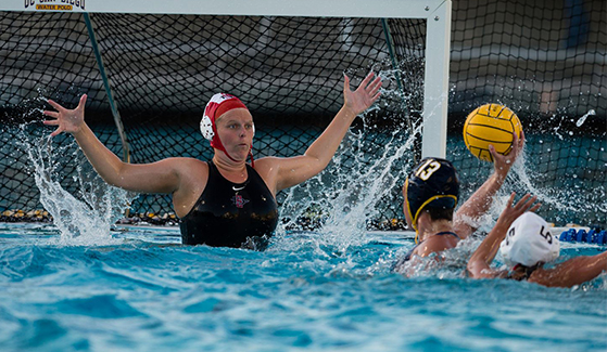 SDSU's Women's Water Polo.